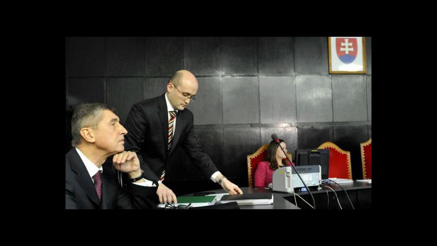 Video Soud s Babišem tématem Události, komentářů