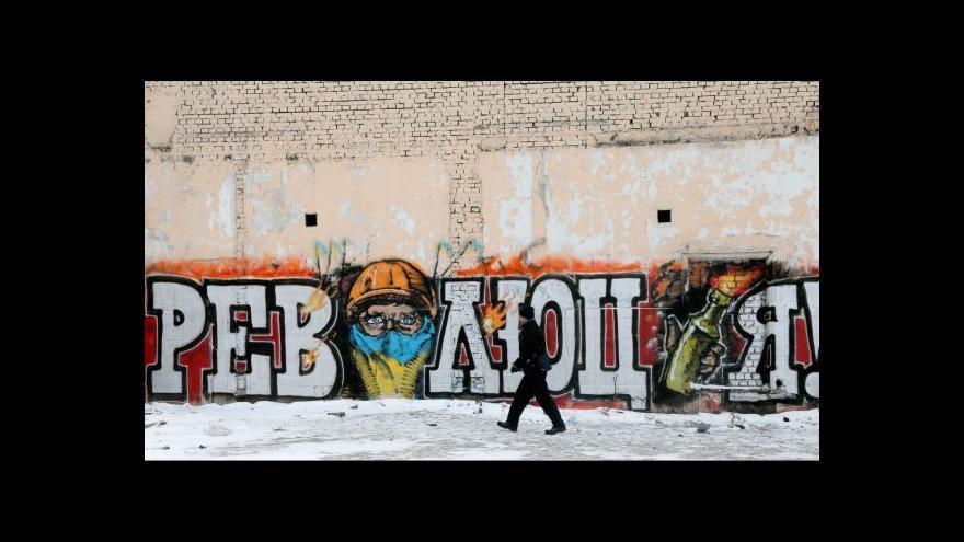 Video Horizont ČT24 k vývoji na Ukrajině