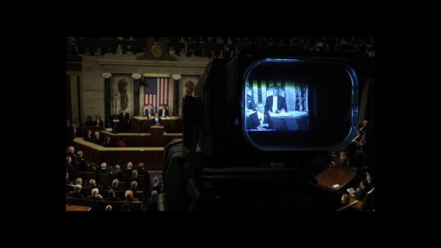 Video PODÍVEJTE SE na sestřih Obamova projevu o stavu unie