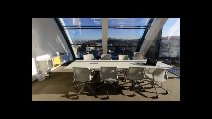 Video Ekonomika ČT24 o cenách kanceláří v Praze