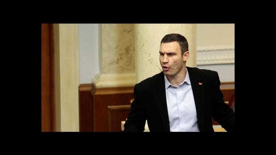 Video Horizont ČT24: Ukrajinské opozici demise vlády nestačí