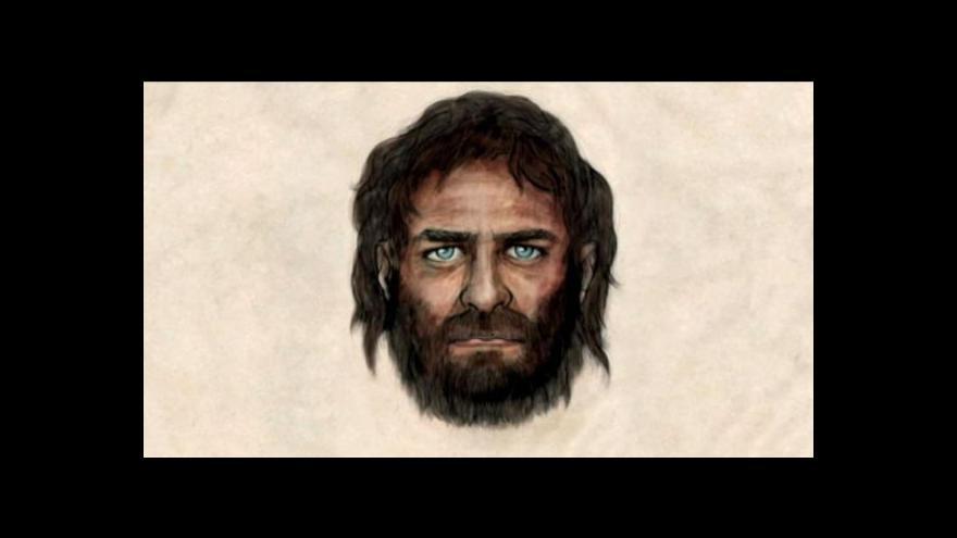 Video Jeskynní muž ze Španělska měl modré oči