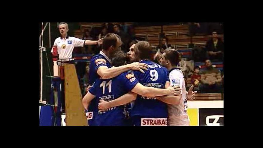Video Sestřih volejbalového utkání Brno - Benátky
