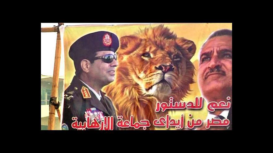 Video Osobnost Horizontu ČT24: Abdal Fatah Sisi