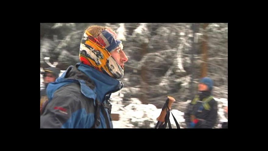 Video V rekordním mraze se v noci běhalo na Lysou horu