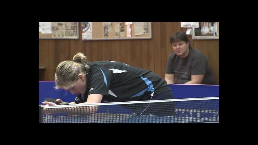 Video Sestřih stolního tenisu Hodonín-Doněck s ohlasem