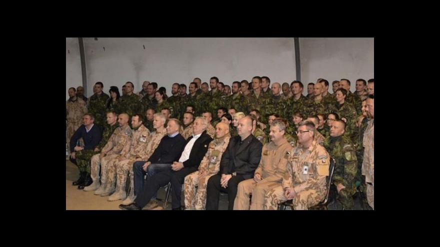 Video Události ČT o Zemanově návštěvě Afghánistánu