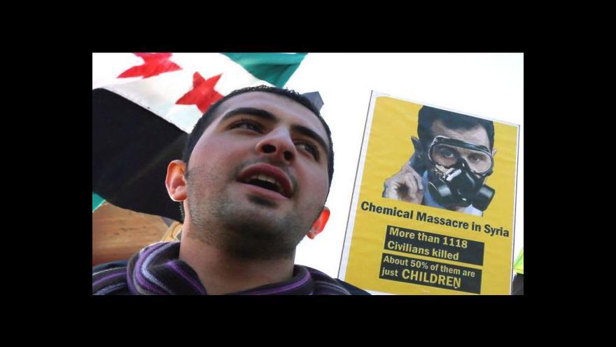 Video Zástupci opozice trvají na odstoupení Asada