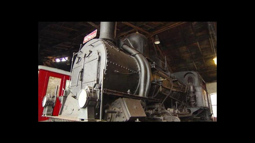 Video Historická lokomotiva se na koleje nevrátí