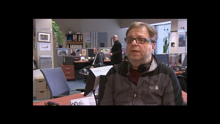 Video Režisér Milan Šteindler o natáčení seriálu Kancl