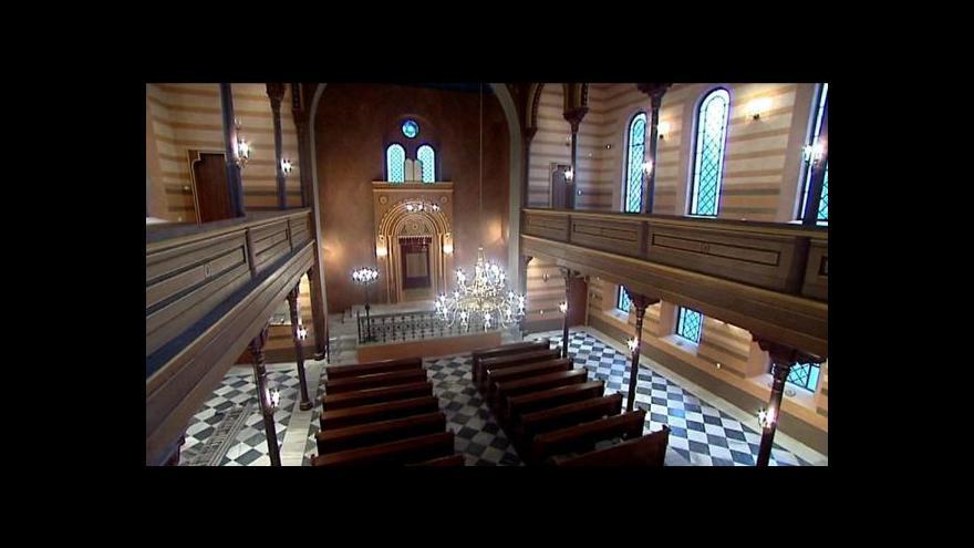 Video Krnovská synagoga byla opravena