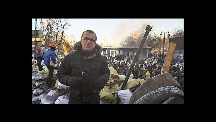 Video Události: Janukovyčovy sliby opozici nestačí