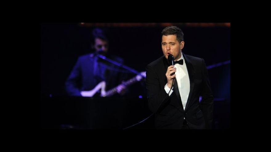 Video Michael Bublé koncertuje dnes v Praze