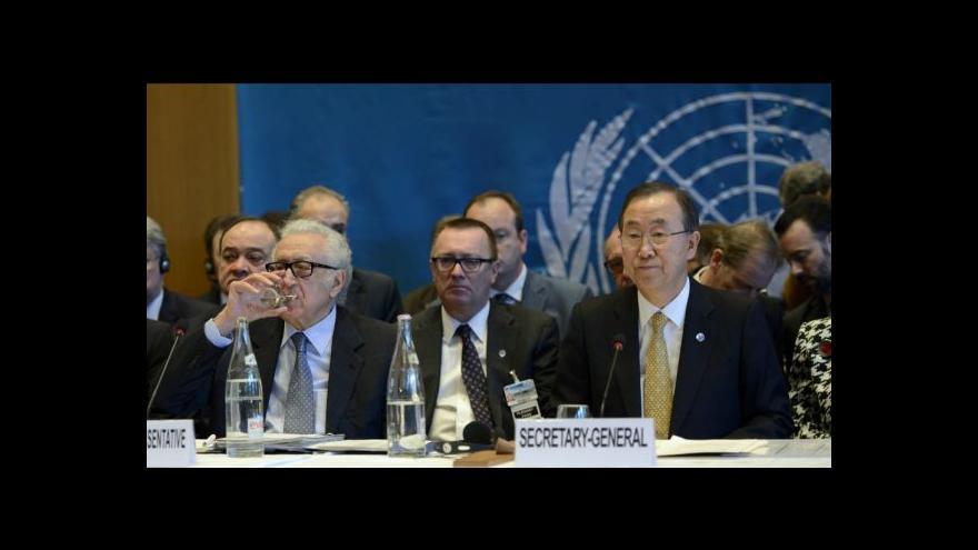 Video Arabista: Asad zpátky ve hře, jeho delegace si může diktovat podmínky