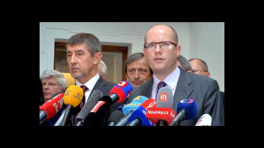 Video Spor o náměstky očima koaličních politiků