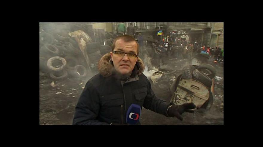 Video Josef Pazderka: Napětí na Ukrajině trvá