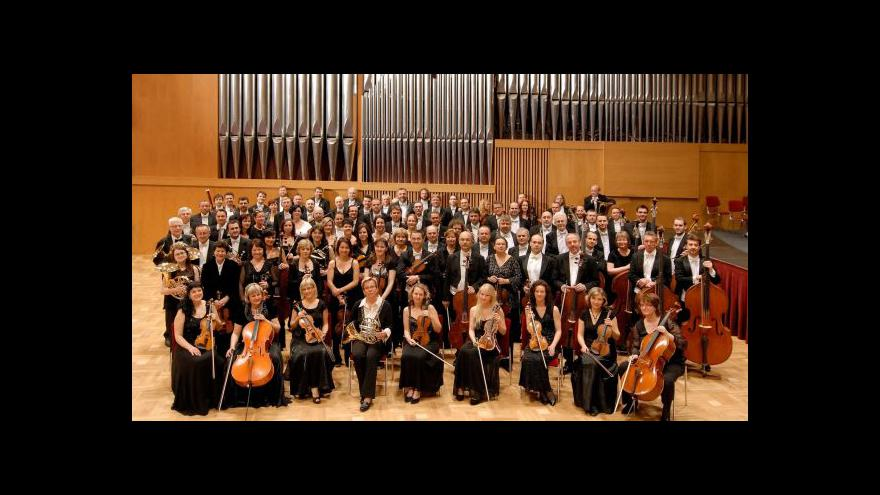 Video Janáčkova filharmonie hraje Kubína
