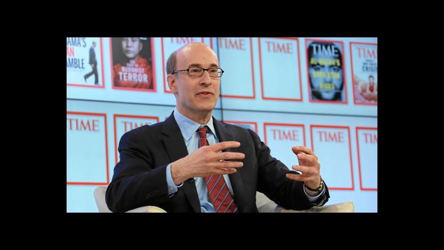 Video Kenneth Rogoff a Davos, den druhý