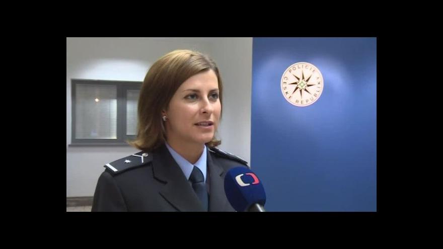 Video O policejní akci hovoří jihomoravská mluvčí Petra Vedrová