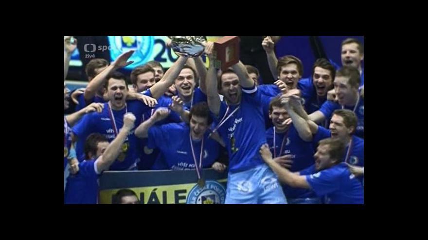 Video Sestřih finále florbalového poháru: Mladá Boleslav - Otrokovice