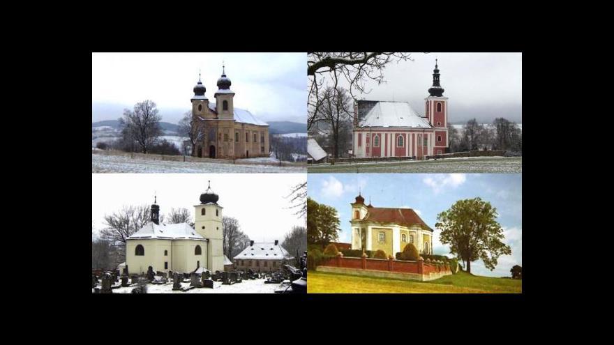 Video Kostely na Broumovsku chátrají