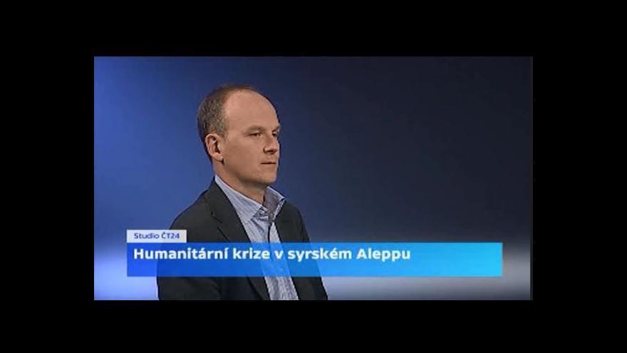 Video Štys: Situace v Sýrii bude neutěšitelná