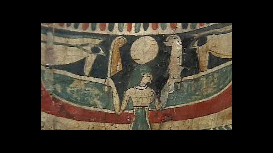 Video Do hrobů starých Egypťanů nahlédnete na filozofické fakultě