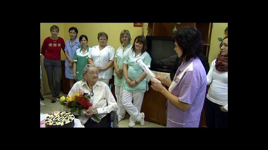 Video Josefina Napravilová - Našla první lidické dítě a dnes je jí sto