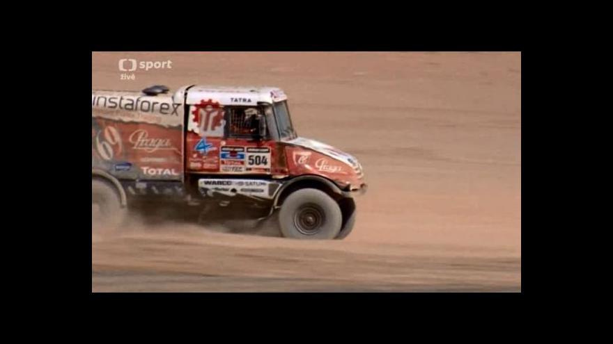 Video Loprais po návratu z Dakaru už myslí na další závody