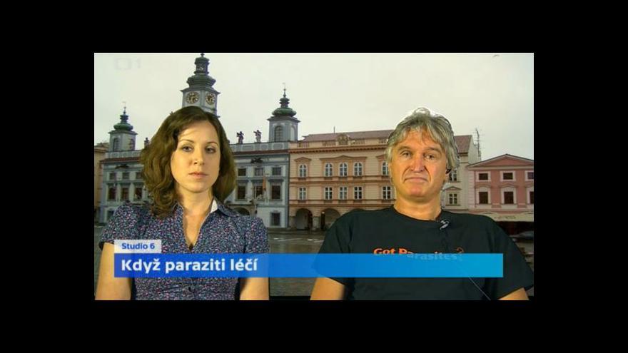 Video Parazitologové Julius Lukeš a Kateřina Pomajbíková o léčivosti parazitů