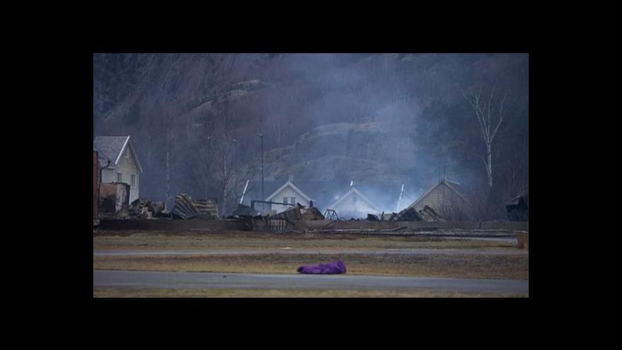 Video Norové velebí dvě hrdinky, které při požáru zburcovaly obec