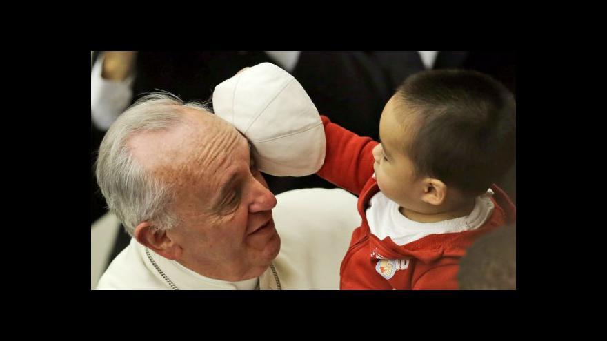 Video Papež František slaví narozeniny