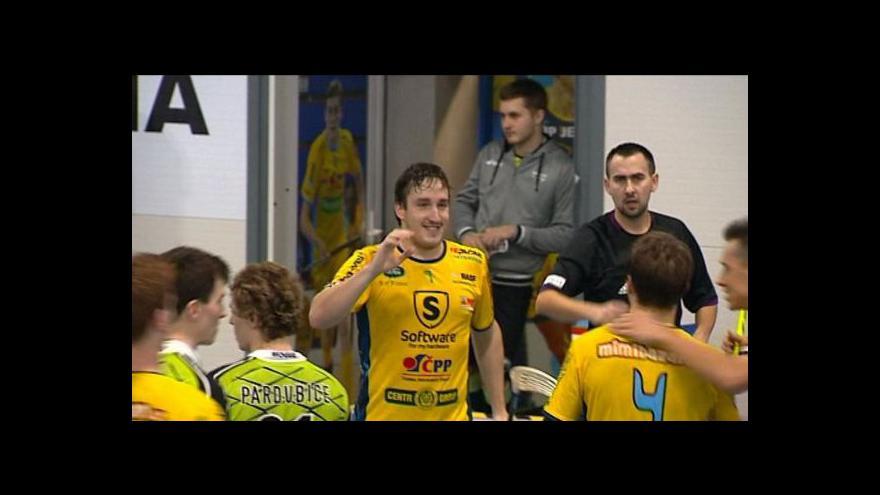 Video Sestřih florbalu: Ostrava - Pardubice