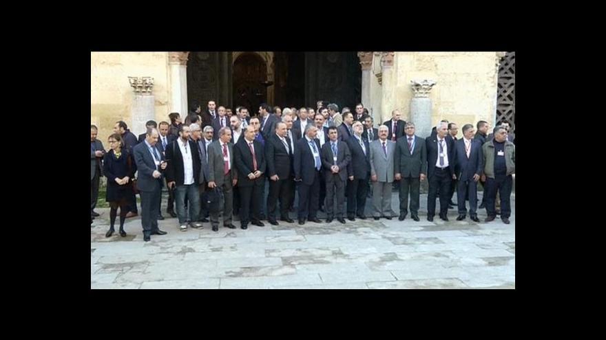 Video Část syrské opozice odmítá účast na mírové konferenci