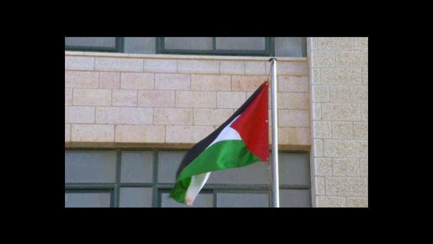 Video Dveře palestinské ambasády zůstávají zavřené
