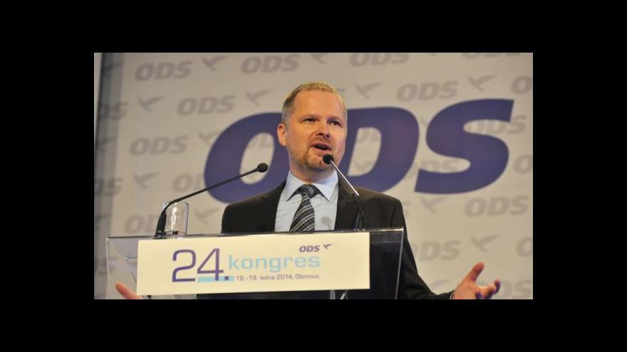 Video Fiala vyzval k jednotnosti ODS a požádal o silný mandát
