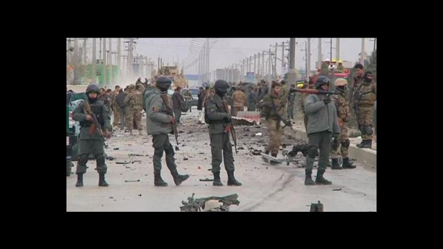 Video Útok na zahraniční turisty v Kábulu