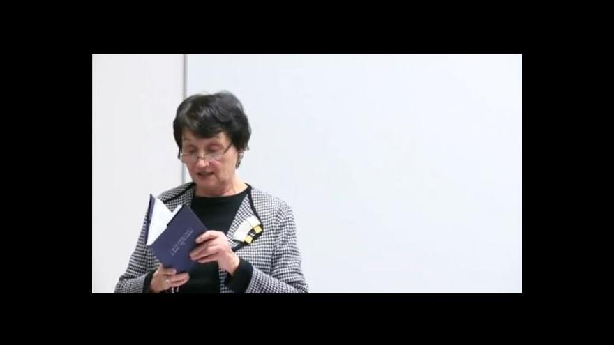 Video ZÁZNAM přednášky Heleny Jarošové