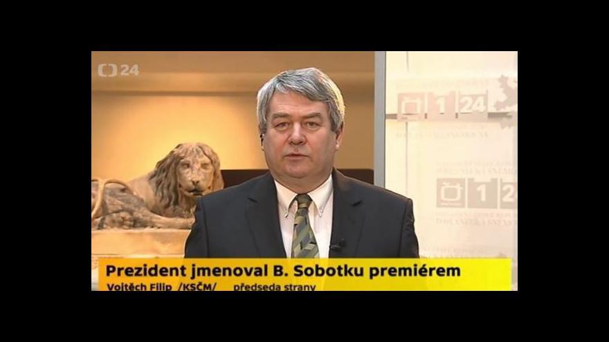 Video Rozhovor s Vojtěchem Filipem