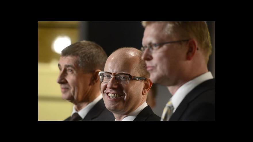 Video Vládu by měl prezident jmenovat co nejdřív, shoduje se Faltýnek s Bělobrádkem