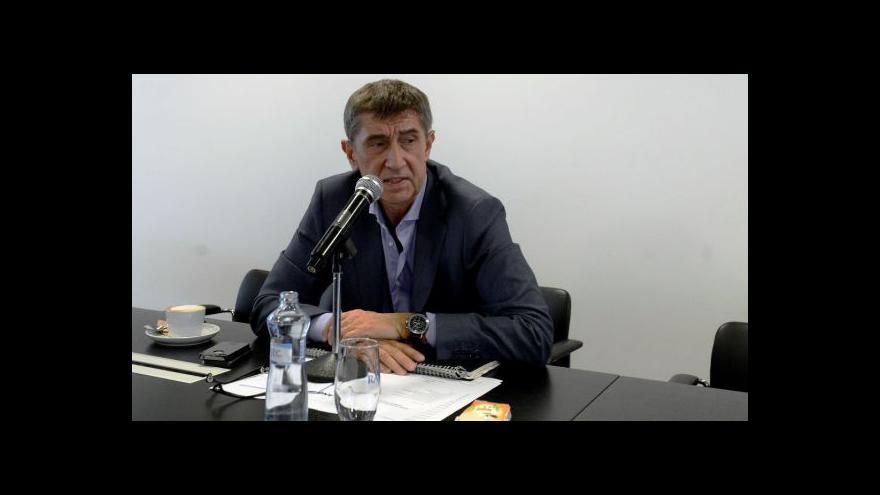 Video Babiš nechápe, proč Sobotka nepředložil jména ministrů už v pátek