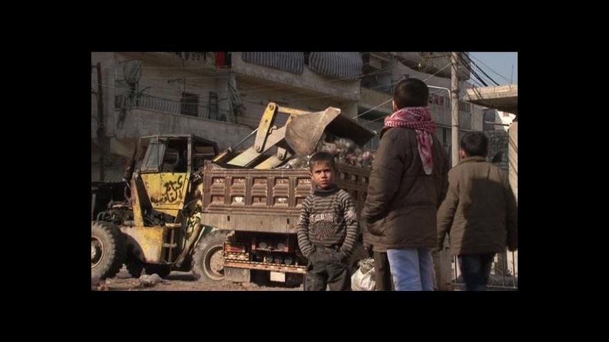 Video Jakub Szántó o plánu příměří v Aleppu