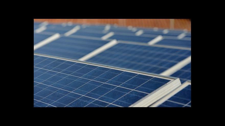 Video Události: ČEZ čelí podezření, že podváděl se solárními elektrárnami