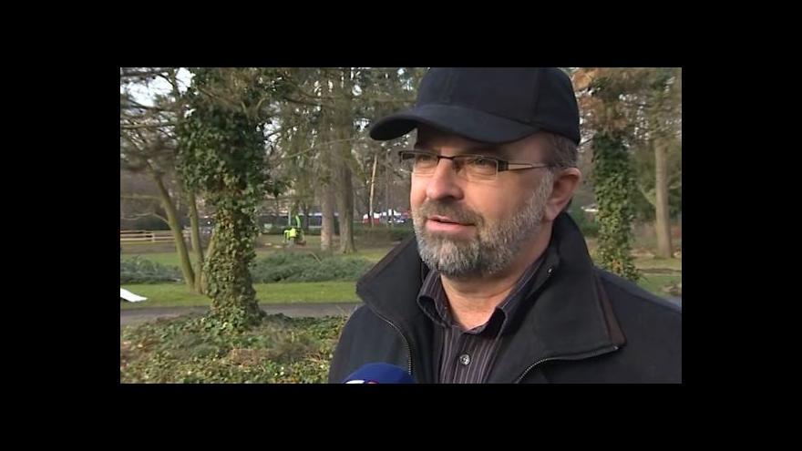 Video O obnově parku hovoří náměstek primátora Bedřich Landsfeld