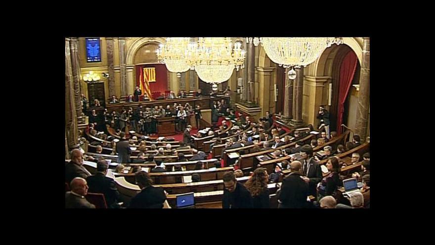 Video Katalánský parlament podpořil referendum o nezávislosti