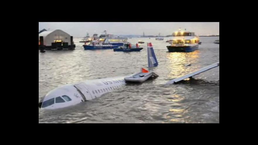 Video Zázrak na Hudsonu po pěti letech