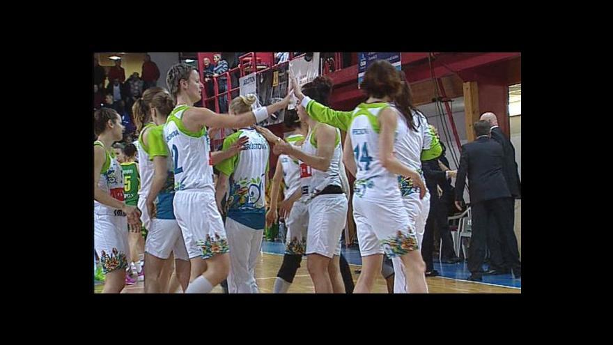 Video Sestřih utkání basketbalistek: Brno - Šoproň