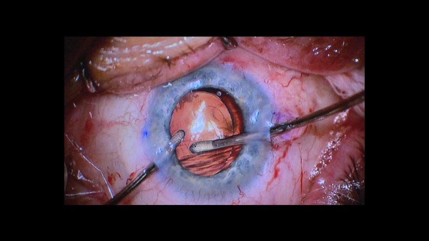 Video Pavel Pavlas o novém očním oddělení v Příbrami