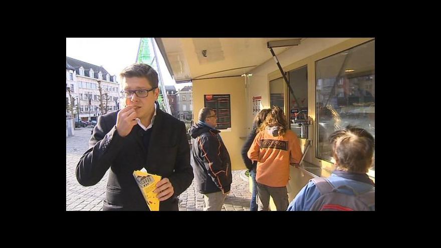 Video Horizont ČT24: Belgičané chtějí své hranolky v seznamu UNESCO