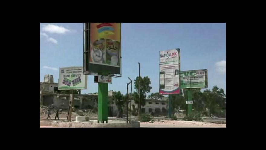 Video Šabáb zakázal v Somálsku mobilní internet
